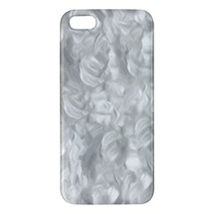 Abstract In Silver Apple Iphone 5 Premium Hardshell Case by StuffOrSomething