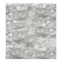 Abstract In Silver Shower Curtain 66  X 72  (large) by StuffOrSomething