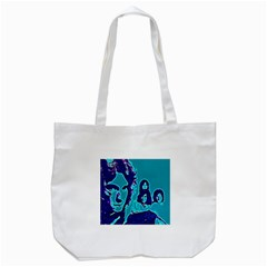 Led Zeppelin Digital Painting Tote Bag (white) by SaraThePixelPixie