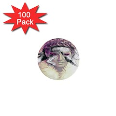 Tentacles Of Pain 1  Mini Button (100 Pack) by FunWithFibro