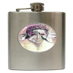 Tentacles Of Pain Hip Flask by FunWithFibro