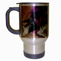 Tentacles Of Pain Travel Mug (silver Gray) by FunWithFibro