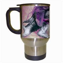 Tentacles Of Pain Travel Mug (white) by FunWithFibro