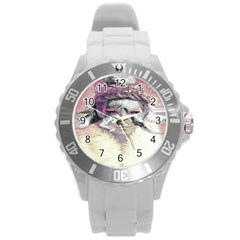 Tentacles Of Pain Plastic Sport Watch (large) by FunWithFibro