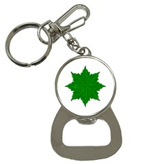 Decorative Ornament Isolated Plants Bottle Opener Key Chain by dflcprints