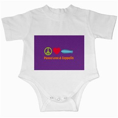Peace Love & Zeppelin Infant Bodysuit by SaraThePixelPixie