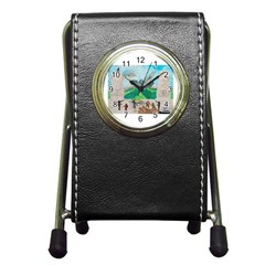Kings, Past Lives, Stationery Holder Clock by creationtruth