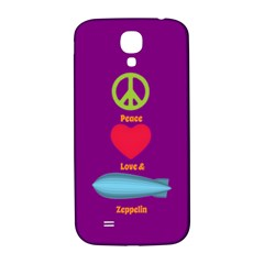 Peace Love & Zeppelin Samsung Galaxy S4 I9500/i9505  Hardshell Back Case by SaraThePixelPixie