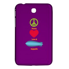 Peace Love & Zeppelin Samsung Galaxy Tab 3 (7 ) P3200 Hardshell Case  by SaraThePixelPixie