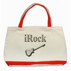 Irock Classic Tote Bag (red)