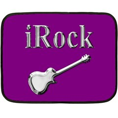 Irock Mini Fleece Blanket (two Sided) by SaraThePixelPixie