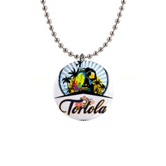 Tortola Button Necklace