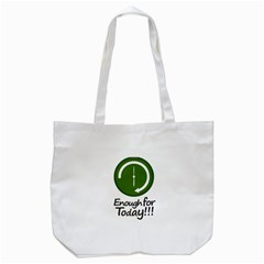 Work Schedule Concept Illustration Tote Bag (white)