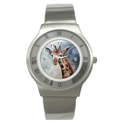 Giraffe Stainless Steel Watch (slim)