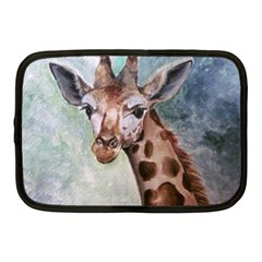 Giraffe Netbook Sleeve (medium)