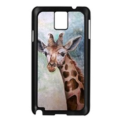 Giraffe Samsung Galaxy Note 3 N9005 Case (black) by ArtByThree