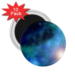 Amazing Universe 2 25  Button Magnet (10 Pack) by StuffOrSomething