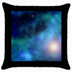 Amazing Universe Black Throw Pillow Case by StuffOrSomething