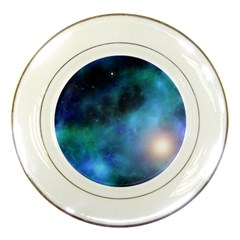 Amazing Universe Porcelain Display Plate by StuffOrSomething