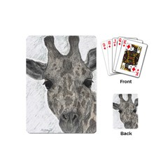 Giraffe Playing Cards (mini) by sdunleveyartwork