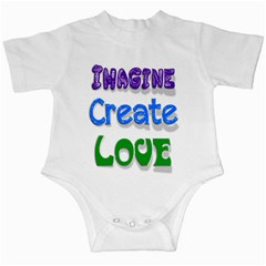Imagine Create Love Infant Bodysuit by SaraThePixelPixie