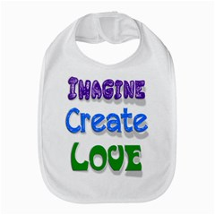 Imagine Create Love Bib by SaraThePixelPixie