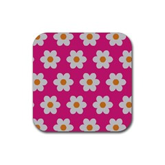 Daisies Drink Coaster (square) by SkylineDesigns