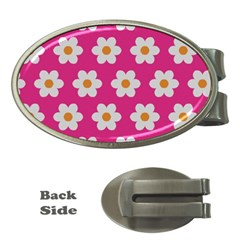Daisies Money Clip (oval)