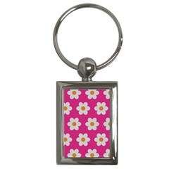 Daisies Key Chain (rectangle) by SkylineDesigns
