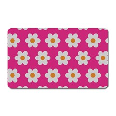 Daisies Magnet (rectangular) by SkylineDesigns