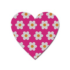 Daisies Magnet (heart) by SkylineDesigns