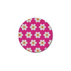Daisies Golf Ball Marker 4 Pack by SkylineDesigns