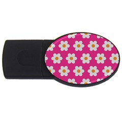 Daisies 2gb Usb Flash Drive (oval) by SkylineDesigns
