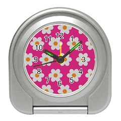 Daisies Desk Alarm Clock by SkylineDesigns