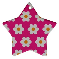Daisies Star Ornament (two Sides) by SkylineDesigns