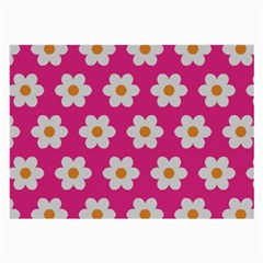 Daisies Glasses Cloth (large) by SkylineDesigns