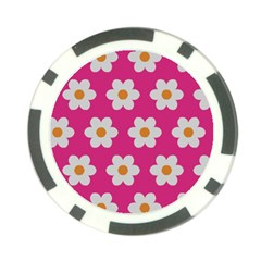 Daisies Poker Chip