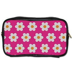 Daisies Travel Toiletry Bag (one Side)