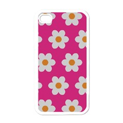 Daisies Apple Iphone 4 Case (white)