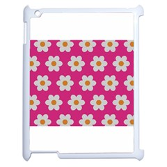 Daisies Apple Ipad 2 Case (white) by SkylineDesigns