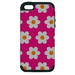 Daisies Apple Iphone 5 Hardshell Case (pc+silicone)
