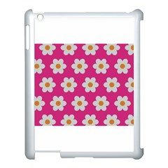 Daisies Apple Ipad 3/4 Case (white) by SkylineDesigns