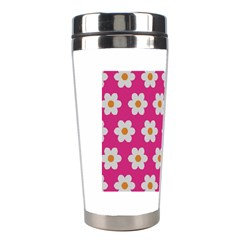 Daisies Stainless Steel Travel Tumbler by SkylineDesigns