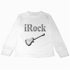 Irock Kids Long Sleeve T Shirt by SaraThePixelPixie