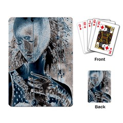 Feeling Blue Playing Cards Single Design