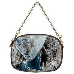 Feeling Blue Chain Purse (two Sided)  by FunWithFibro