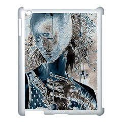 Feeling Blue Apple Ipad 3/4 Case (white) by FunWithFibro
