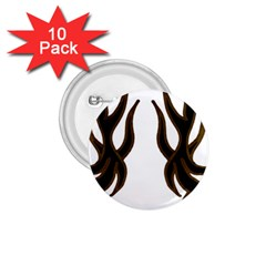 Dancing Fire 1 75  Button (10 Pack) by coolcow