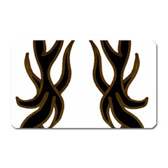Dancing Fire Magnet (rectangular) by coolcow