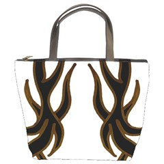 Dancing Fire Bucket Handbag by coolcow